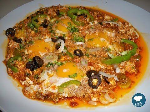 Recette Ojja Au Thon Cuisine Tunisienne Youtube Cuisine