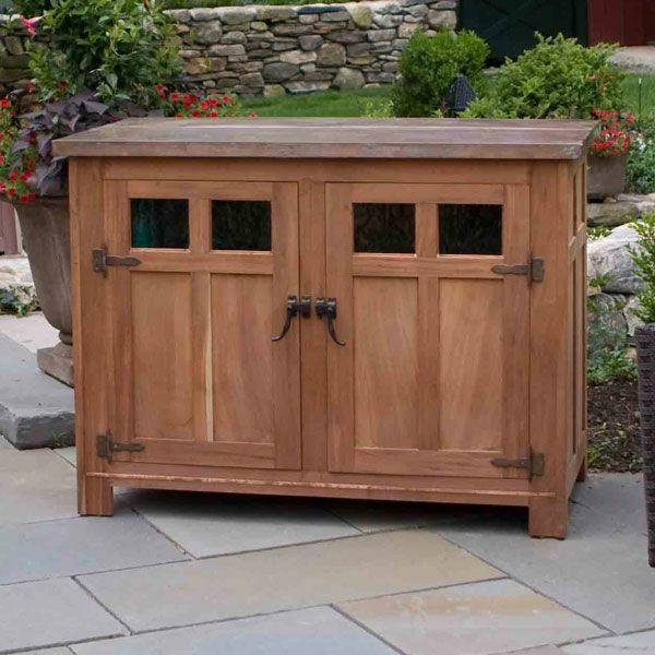 Suchen Sie Nach Einem Gartenschrank Aus Holz Outdoor Tv Cabinet Outdoor Tv