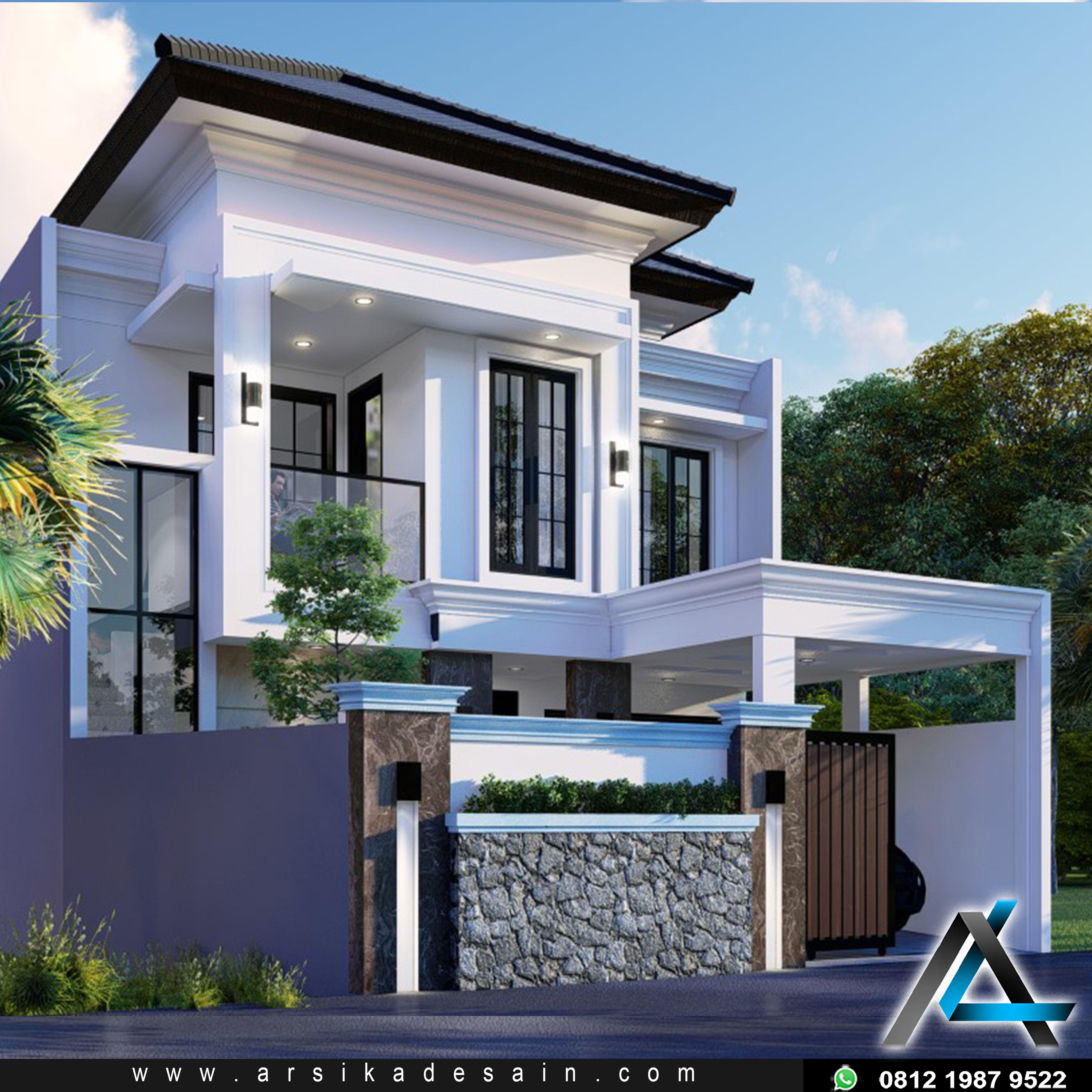 Desain Rumah Klasik Modern Arsitektur Arsitektur Modern Rumah Indah