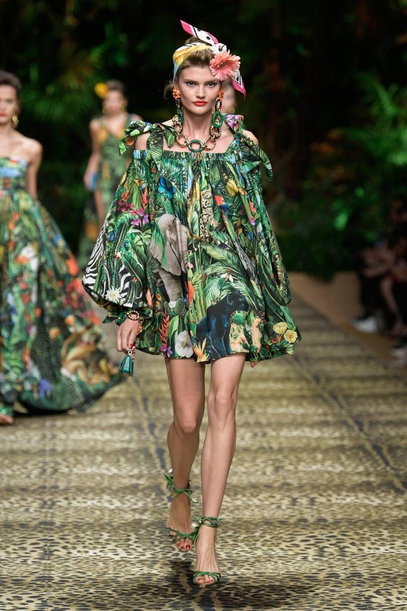 #Dolce&Gabbana #SpringSummer2020 #MFW #BristishVogue