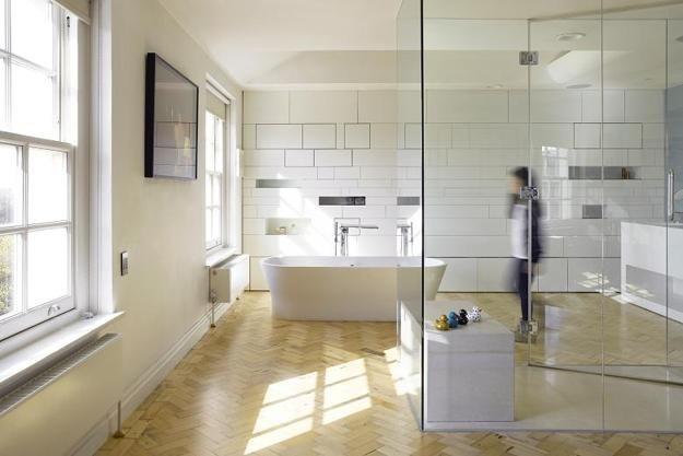 room dividers between bedrooms and bathroom, modern home interiors