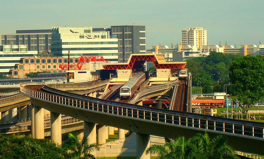Hệ thống tàu điện ngầm MRT không người lái Du lịch