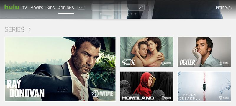 Getting started with SHOWTIME® on your Hulu device