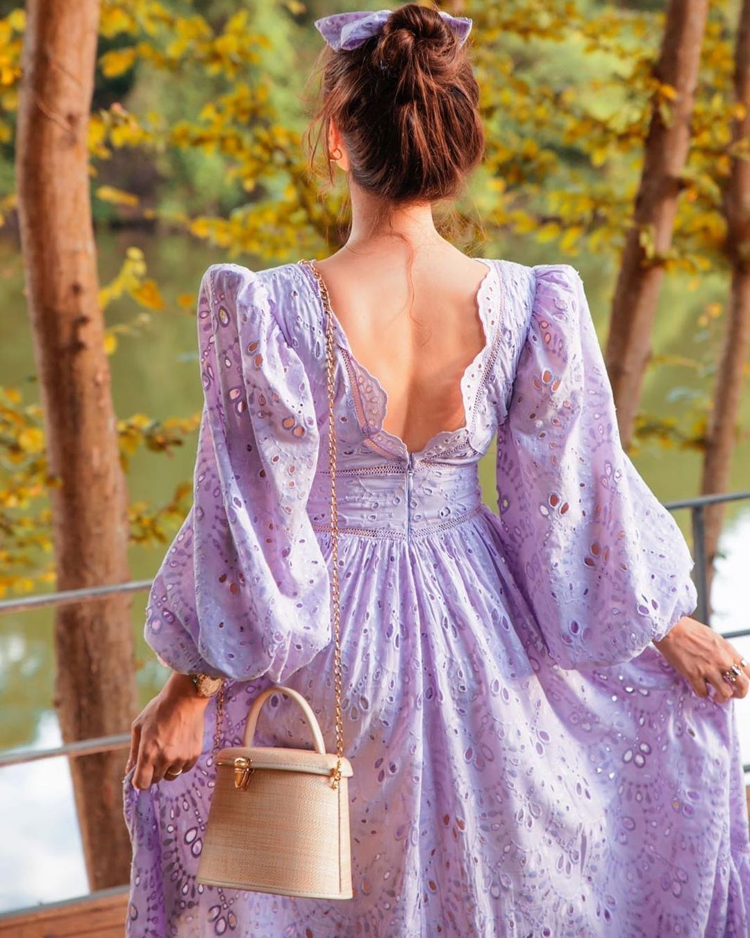 Sagaza On Instagram Garden Violet Invites You Dreamy Colors And Sophisticated Shapes Sagaza Fashion Aesthetic Clothes Dresses [ 1350 x 1080 Pixel ]