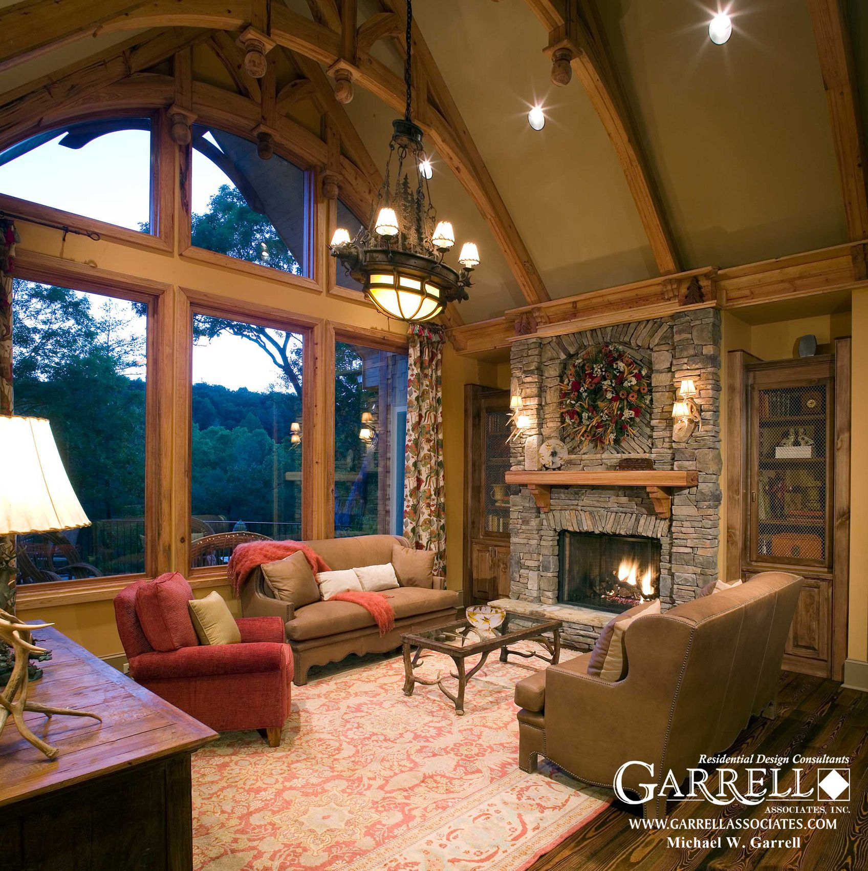 Home Design Ideas Floor Plans: Garrell Associates, Inc. Nantahala Cottage House Plan