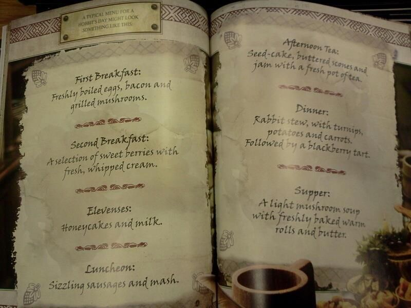 Lord of the rings all day marathon with these meals would be wonderful! Who wants to join me?