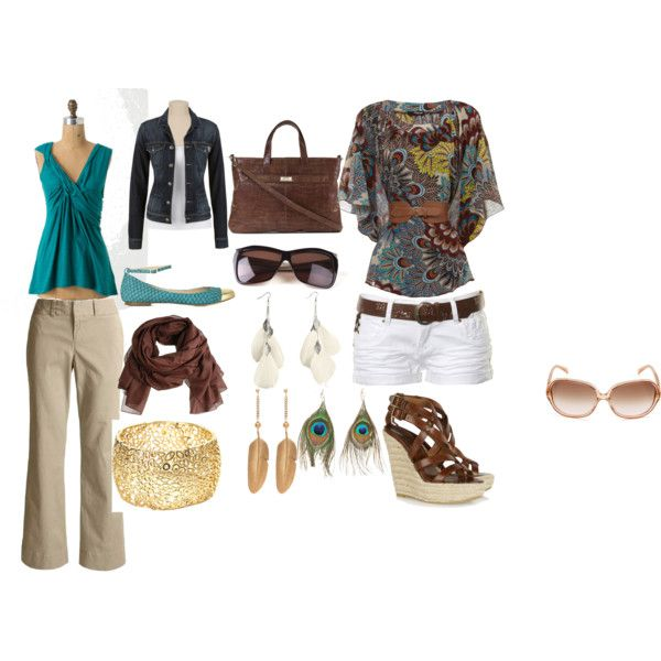 Spring style, created on polyvore. This website is amazing