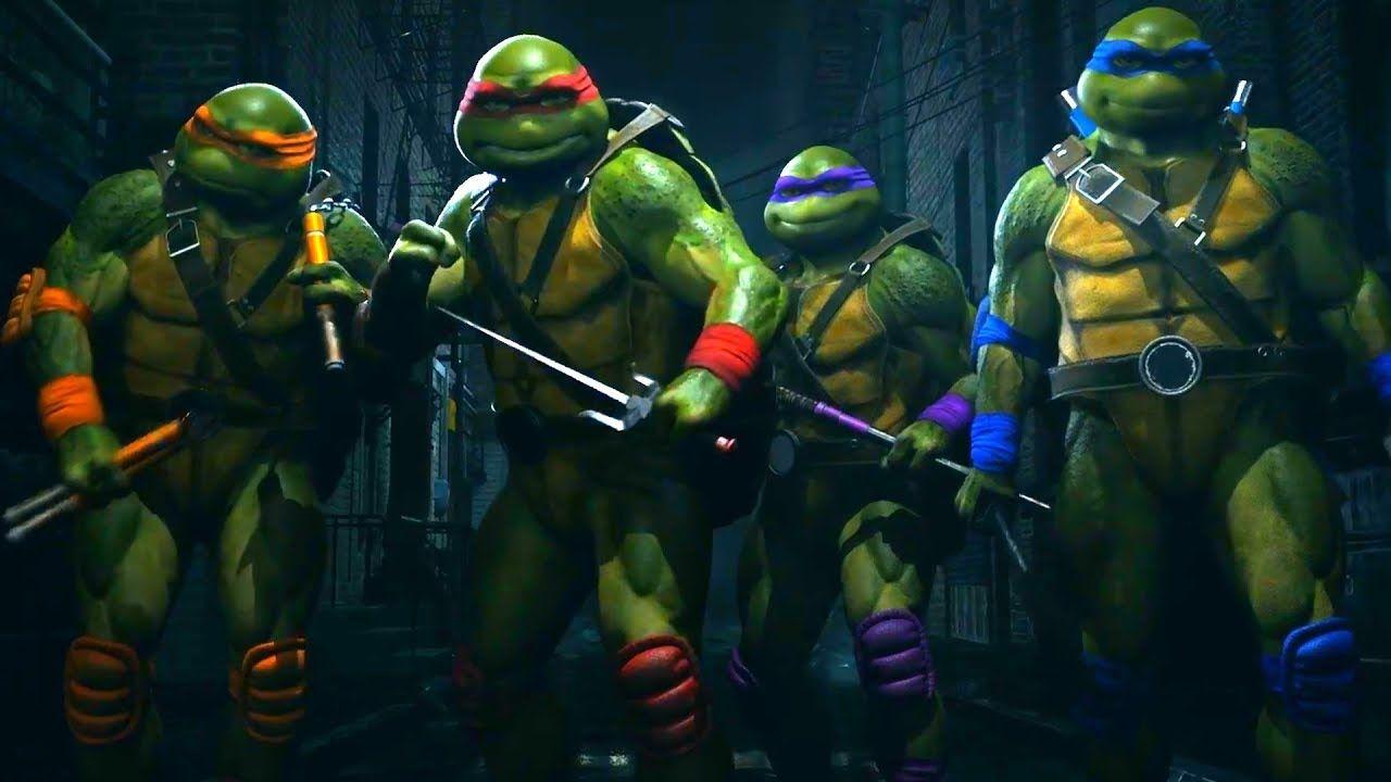 Injustice 2 Fighter Pack 3 The Atom Enchantress And Teenage Mutant Ninja Turtles Tmnt Revealed Tmnt Teenage Mutant Ninja Turtles Injustice