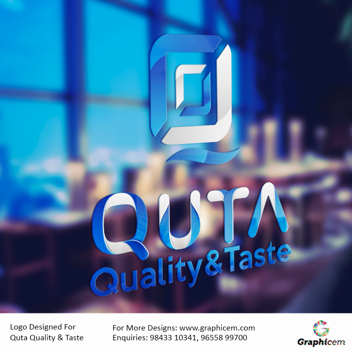 Logo Designed For Quta Quality & Taste
