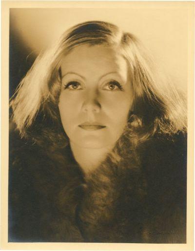 greta garbo |.| Clarence Sinclair Bull/MGM 1930s