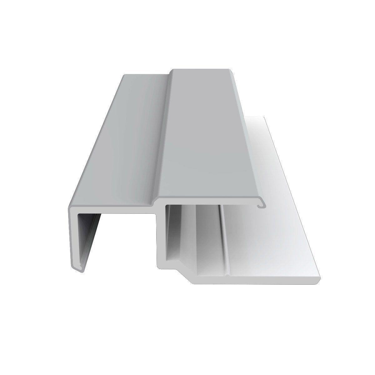 Profil Multifonction Pvc 45x15 Freefoam Gris Ciment Ral 7047