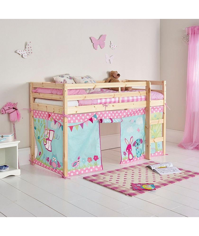buy creature friends tent for single mid sleeper bed frame. Black Bedroom Furniture Sets. Home Design Ideas