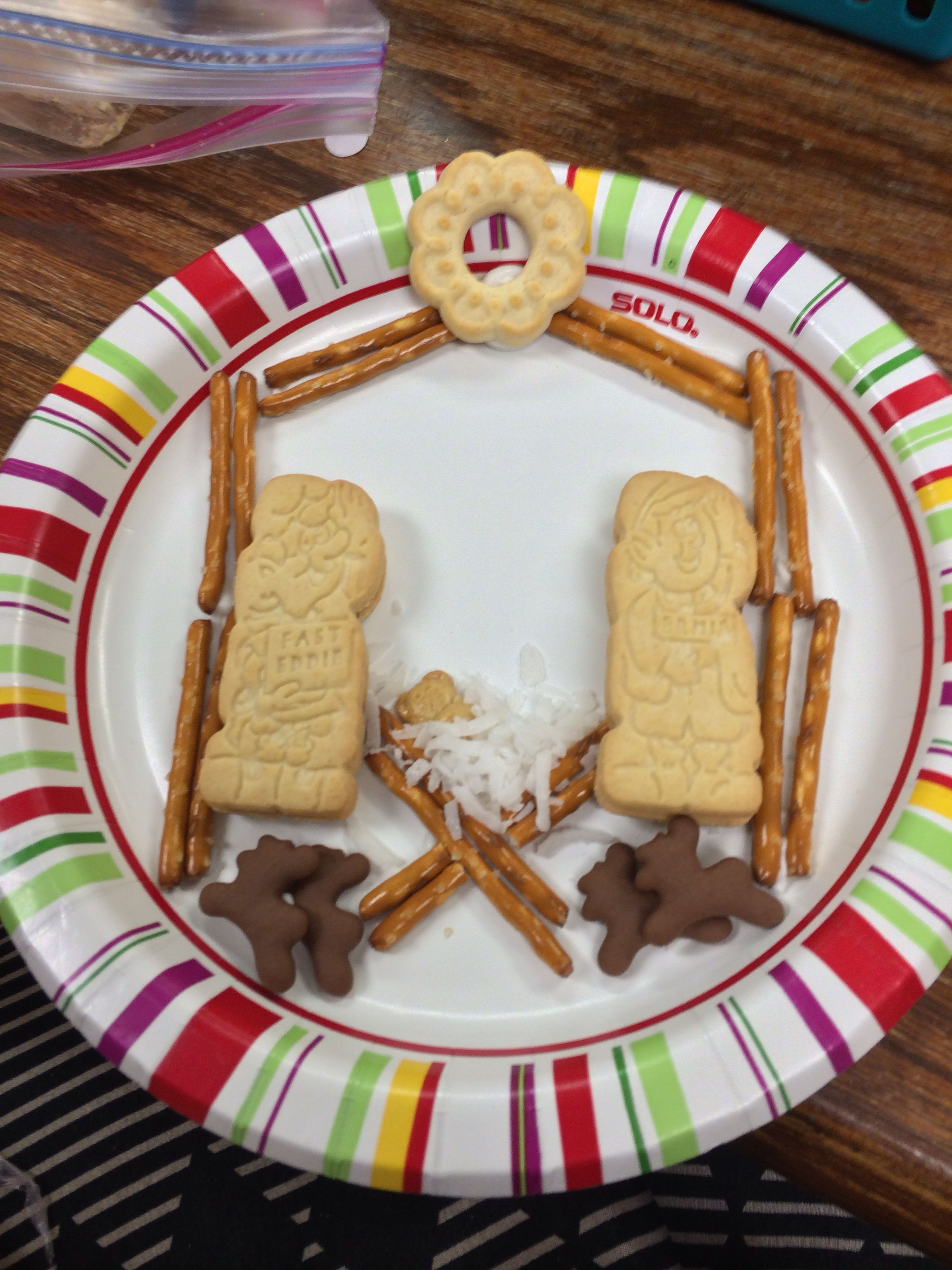 My Sunday school snack from Christmas-- the kids loved it ...