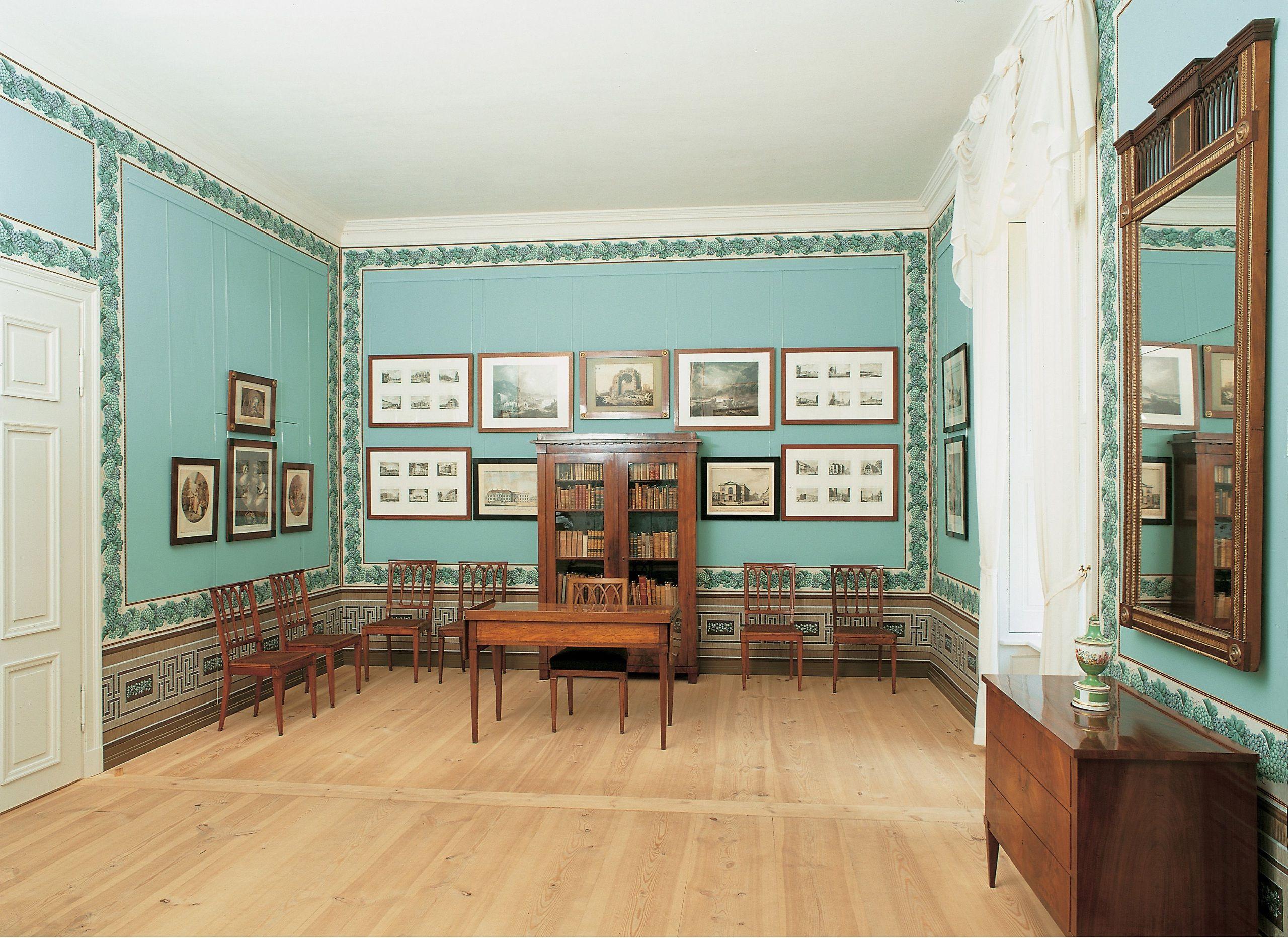 Design arbeitszimmer ~ Schloss paretz arbeitszimmer des königs foto spsg wolfgang