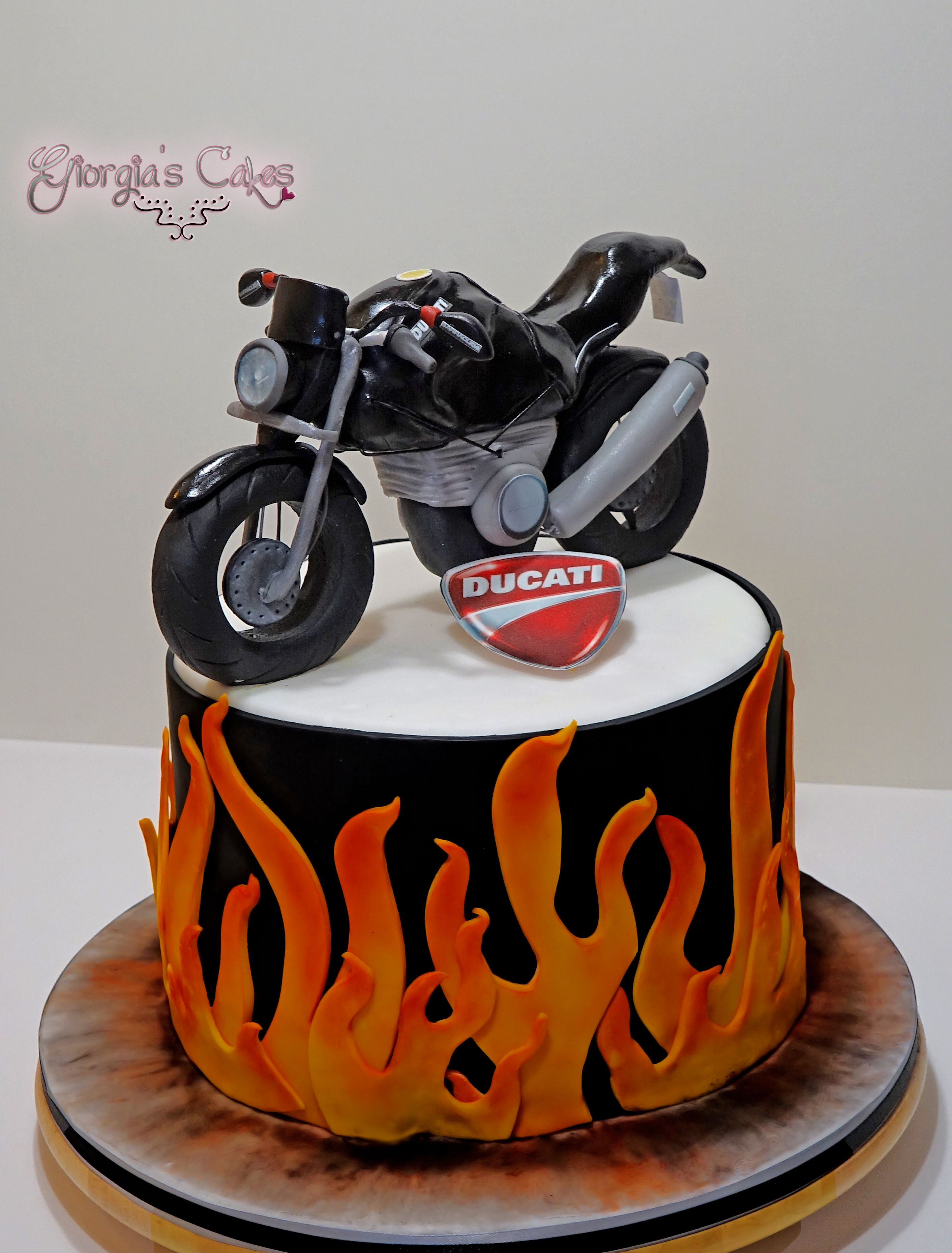 Ducati Monster Cake Pinterest Ducati Monster Bike