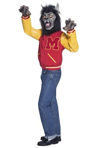 Mens High School Werewolf Costume | Halloween Ideas | Pinterest ...