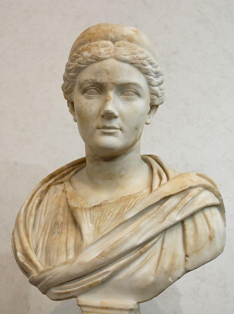 Vibia Sabina, épouse de l'empereur Hadrien, marbre, IIeme