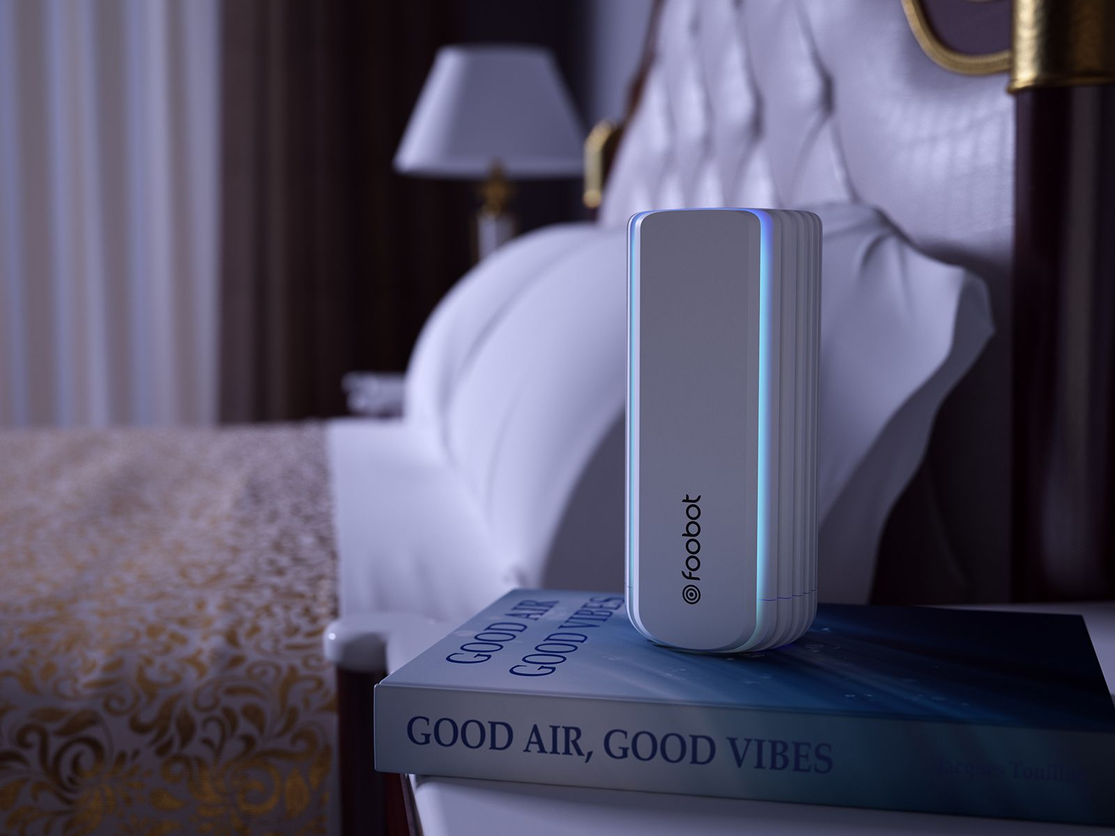 Foobot Indoor Smart Air Quality Monitor (Model 21) - Works