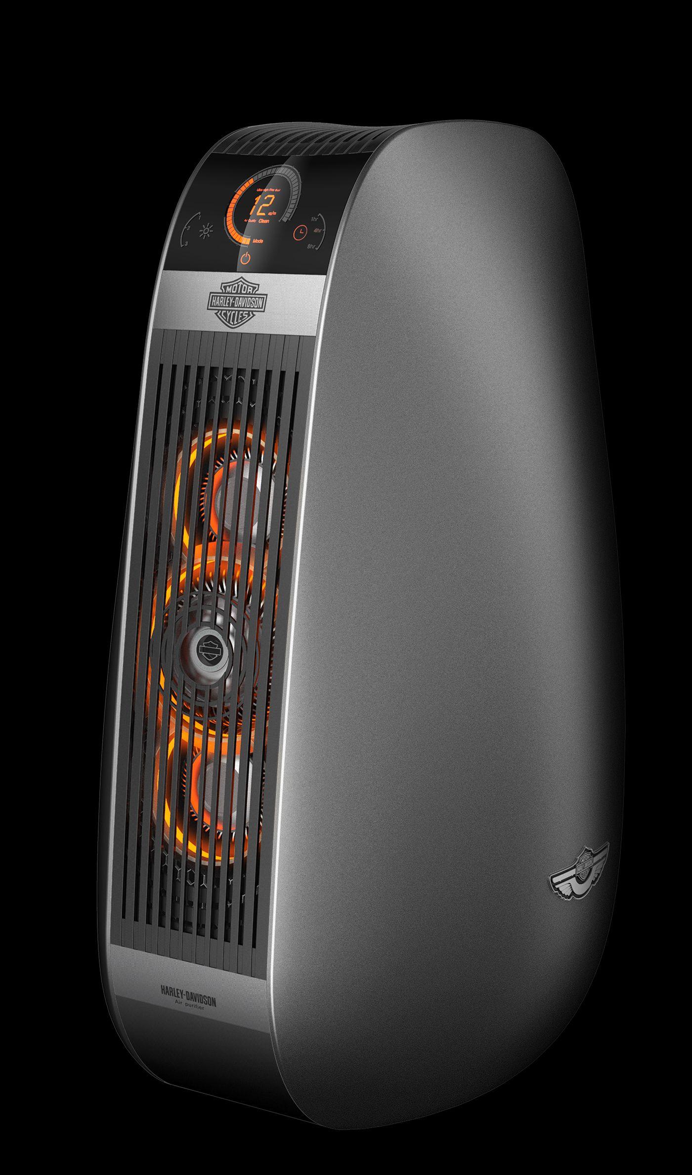 HarleyDavidson X Air purifier wirh PDF HAUS on Behance
