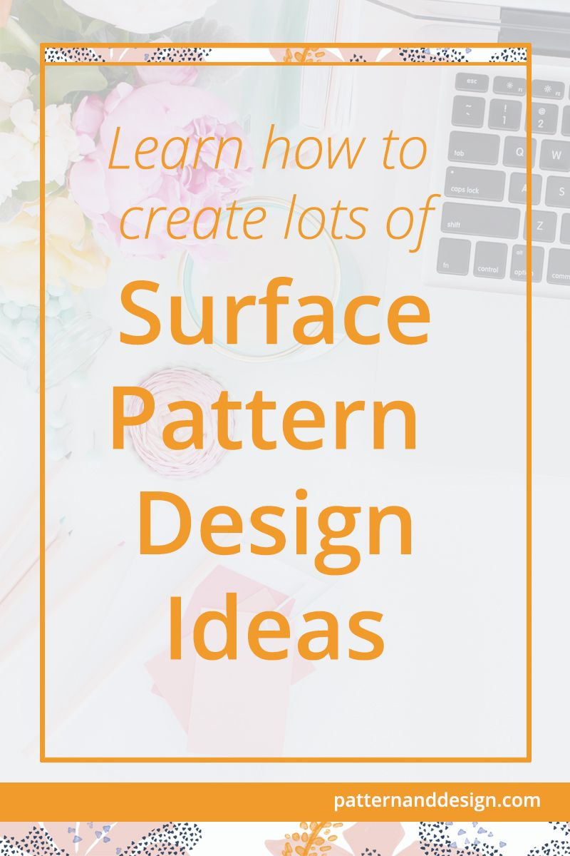 How To Generate Surface Pattern Design Ideas With Images