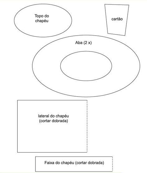 molde cartola chapeleiro maluco - Pesquisa Google  a5c2eba6d13