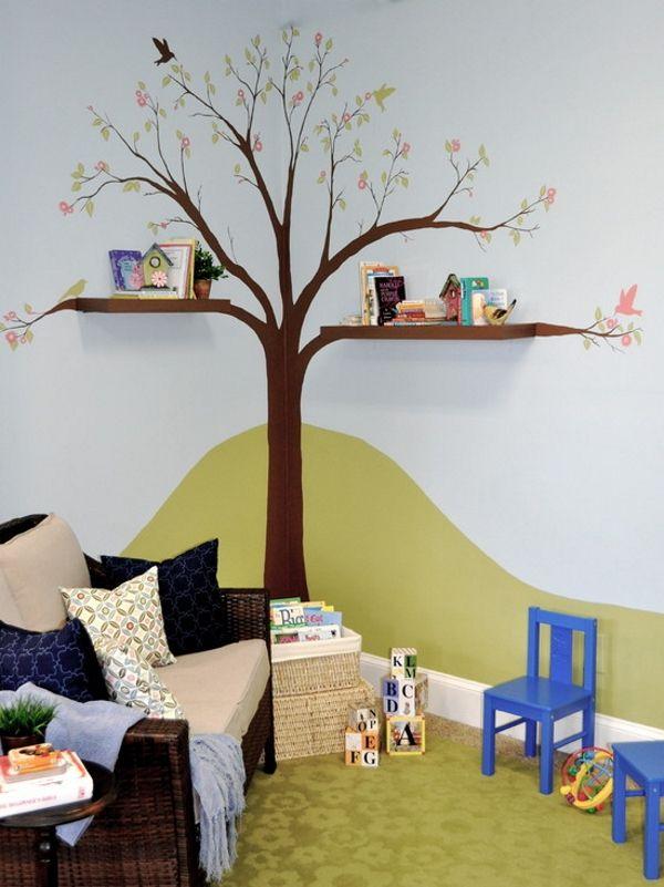 Moderne Kinderzimmer Schema - Elegant Innendekoration Tipps - das moderne kinderzimmer