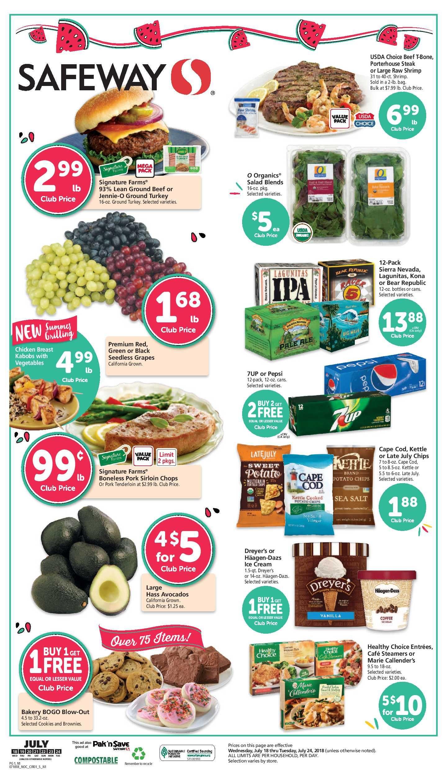Safeway Weekly Ad Flyer 5 26 21 6 1 21 Weeklyad123 Com Weekly Ad Circular Grocery Stores Safeway Grocery Flyer Grocery Savings