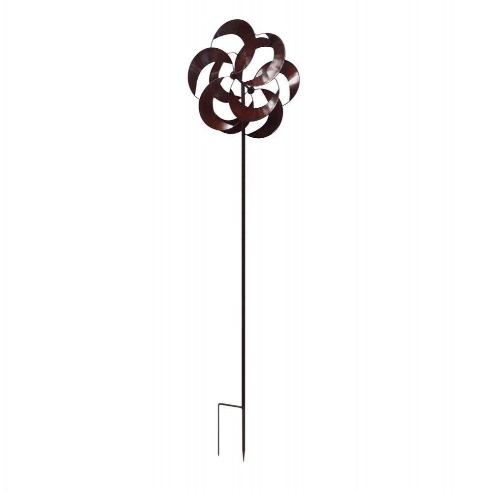 flower petal metal windmill this busy backyard windmill brings