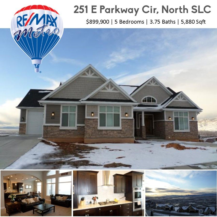 Salt Lake City Utah Houses: 251 E PARKWAY CIR S, North Salt Lake, UT, 84054