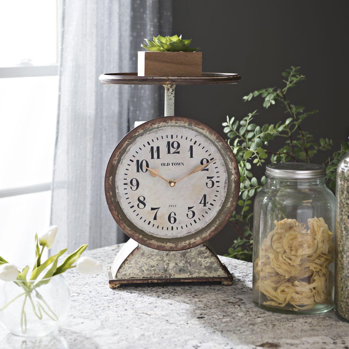 Kirkland S Tabletop Clocks Kirkland Home Decor Farmhouse Clocks