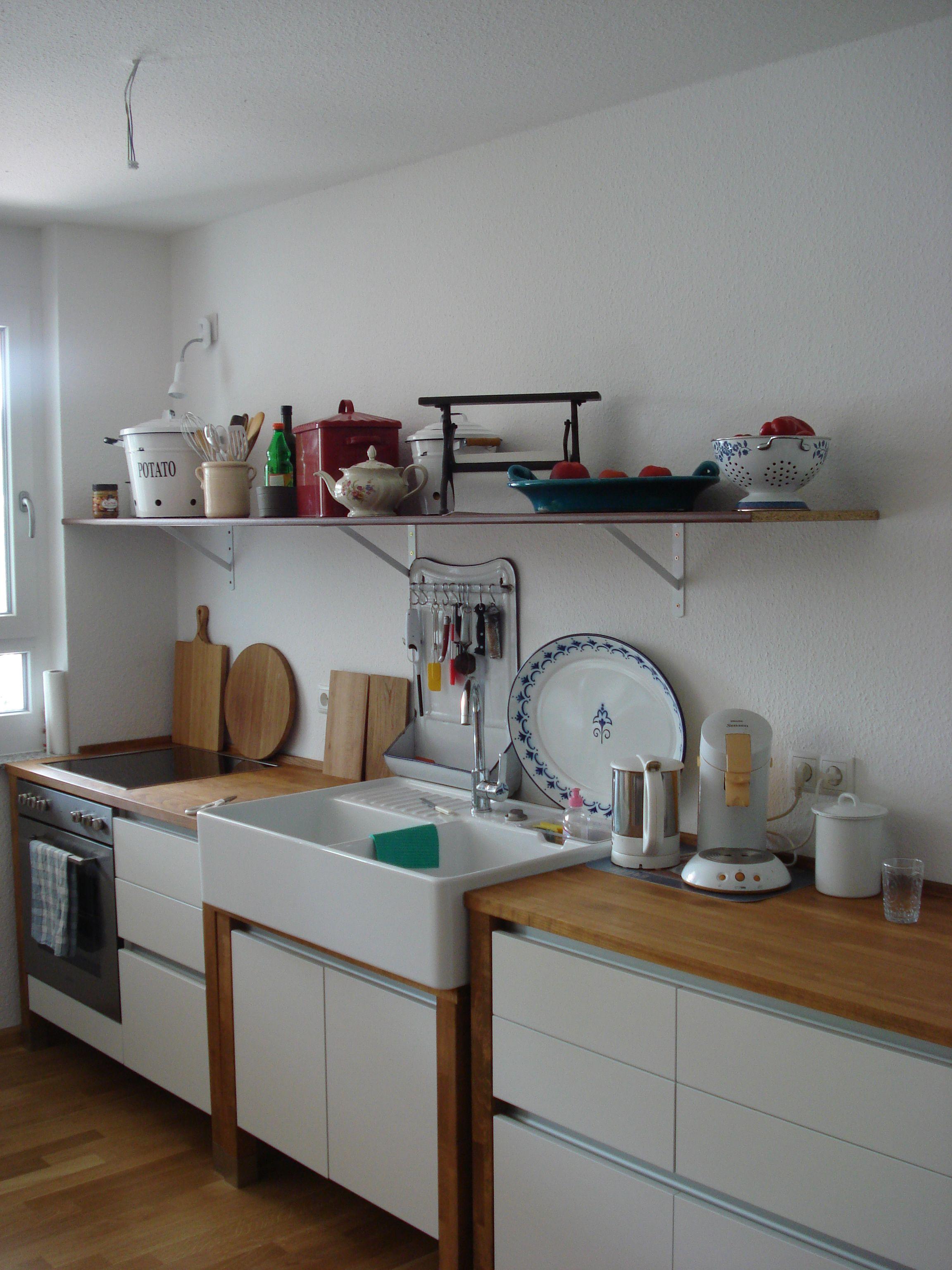 Villeroy & Boch Spülstein 90 | Küchenmodule Landhausküche Lackiert ...