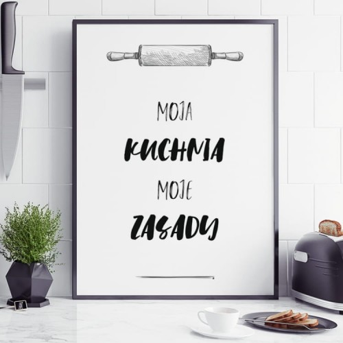 Plakat Moja Kuchnia Home Decor Home Decor Decals Poster