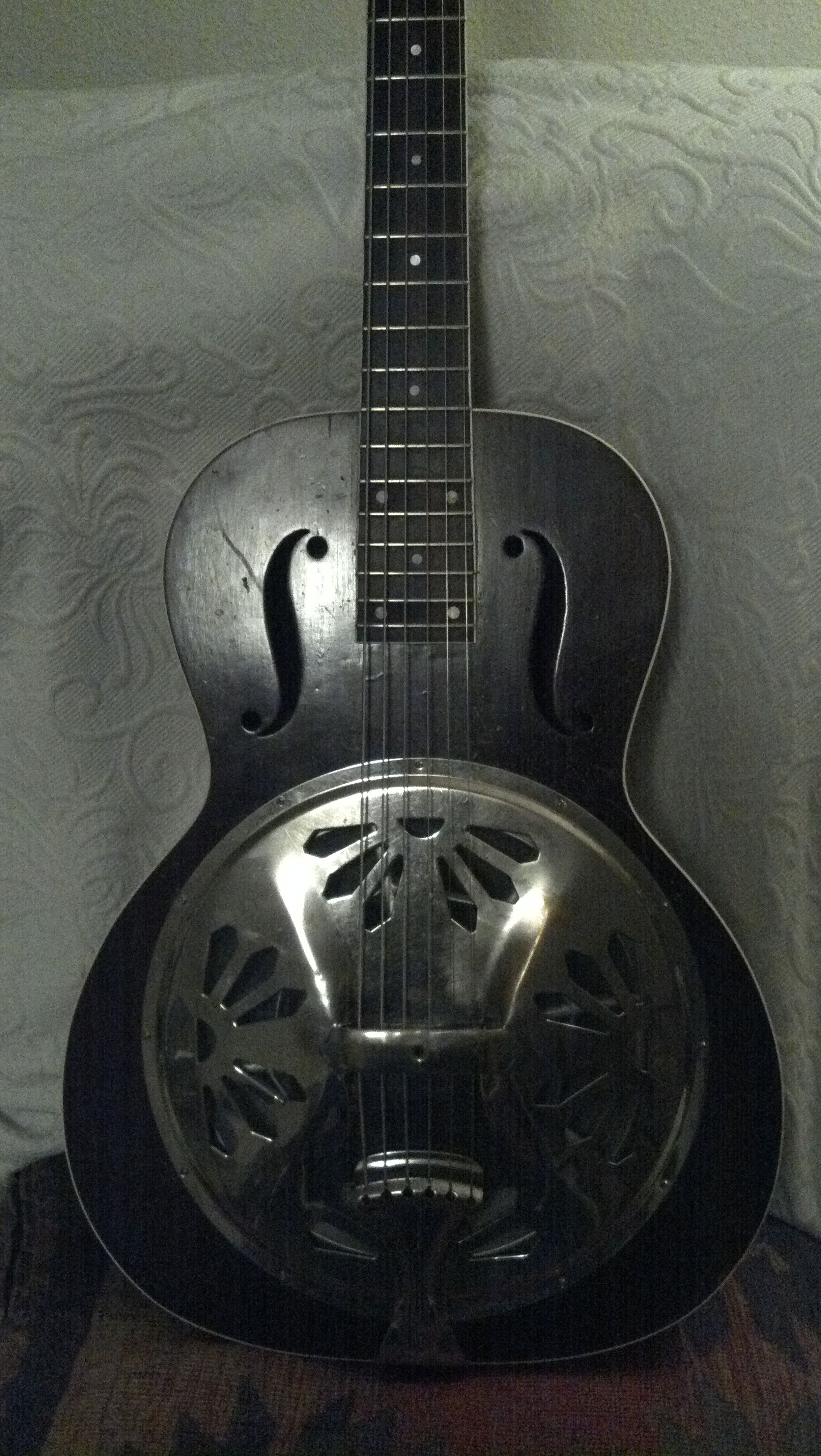 1937 Duolian Resonator Guitar With Amazing Sound What A Pleasure To Play Especially