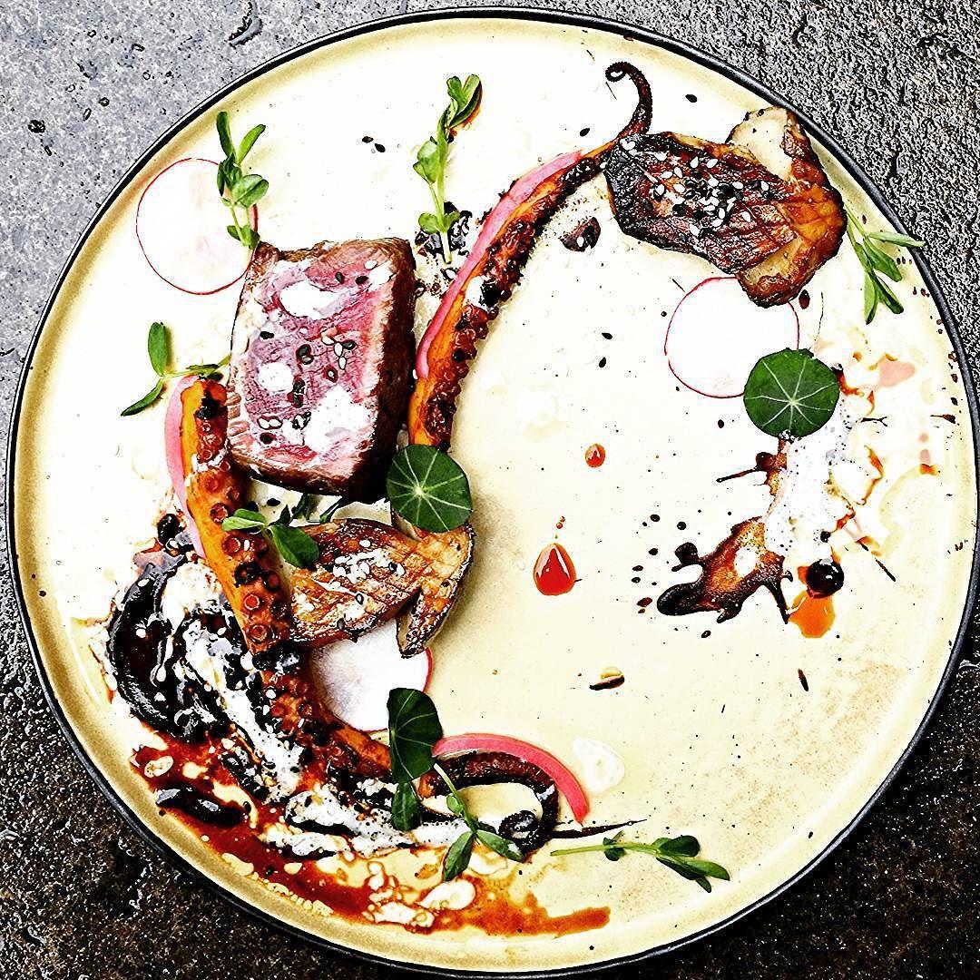 Michael On Instagram Asian Surf Turf Chefsroll Truecooks Kitchencartel Gastroart Theartofplating Chefsofinstagram Thes Beef Filet Food Seasonal Food