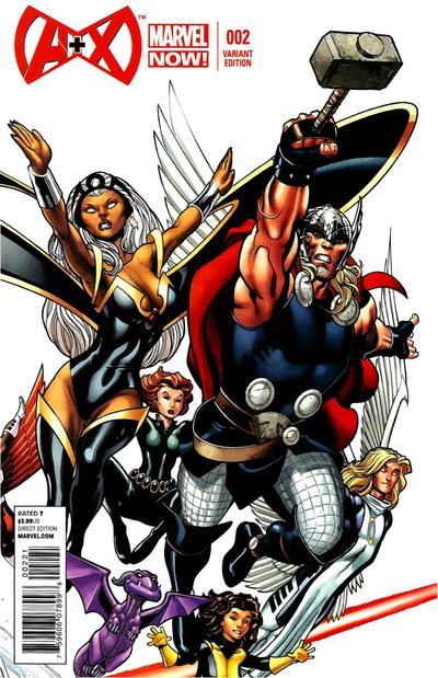 Cover for A+X (Marvel, 2012 series) 2