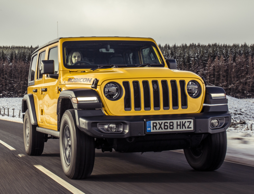 Jeep Wrangler Unlimited Rubicon Uk Spec Jl 2019 Jeep