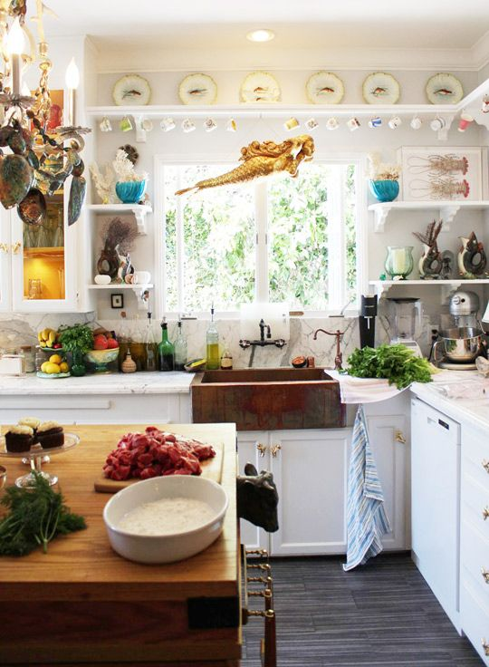 Get The Look Opulent Eclectic Kitchen Quirky Kitchen Eclectic