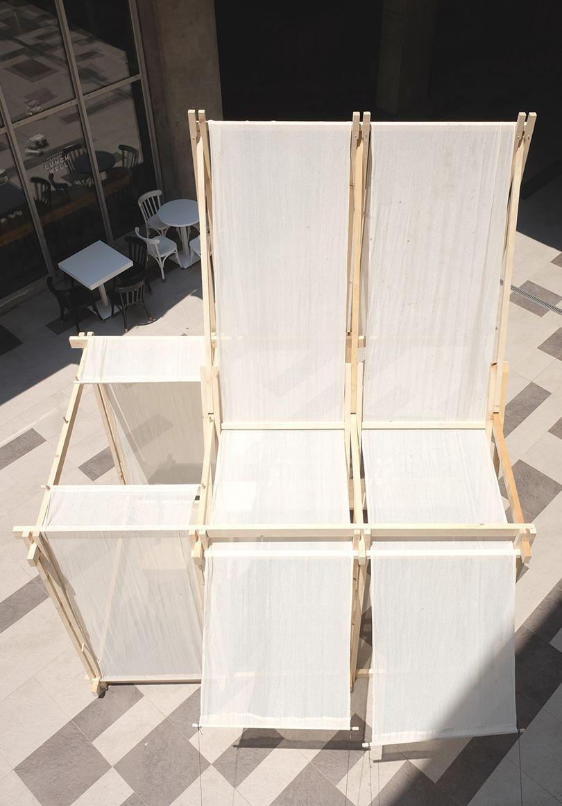 A Relaxing Spatial Installation Named Geçit - Design Milk