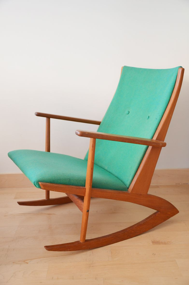 for sale a special find a 1958 georg jensen danish teak rocker on rh pinterest fr