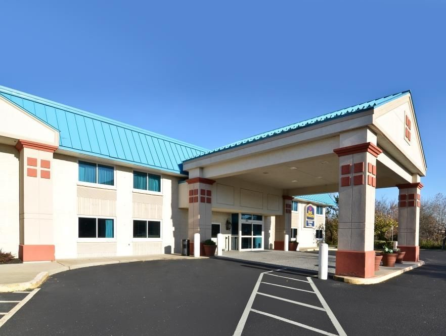Westampton Nj Best Western Burlington Inn United States North America Set In A