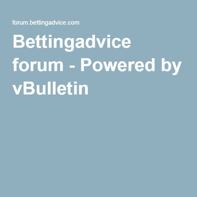 Free bettingadvice forum zanotta alfa 1326 betting