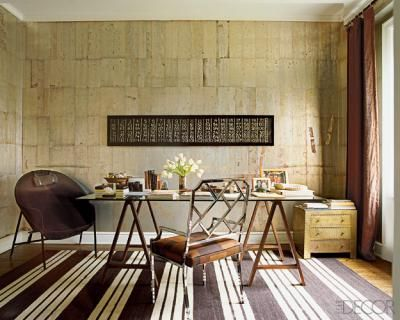Nate Berkus S Office Featured In Elle Decor With Images Elle Decor Interior Home Decor