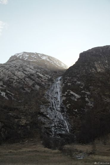 Steall falls, Harry's dragon - task during the triwizard tournament was shot here !
