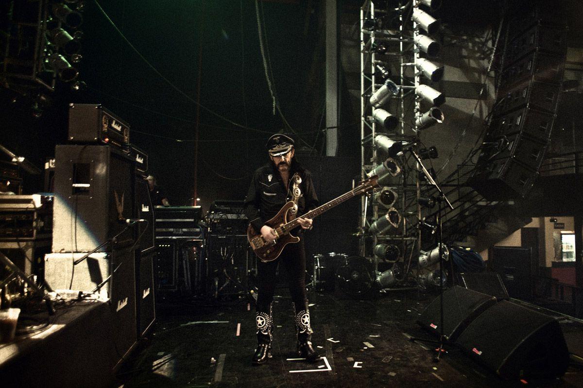 """Lemmy Kilmister... (""""Röadkill – Motörhead"""", Pep Bonet)"""