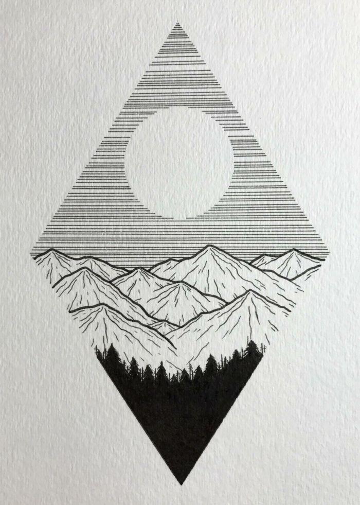 ▷ 1001 + ideas de dibujos tumblr bonitos para inspirarte