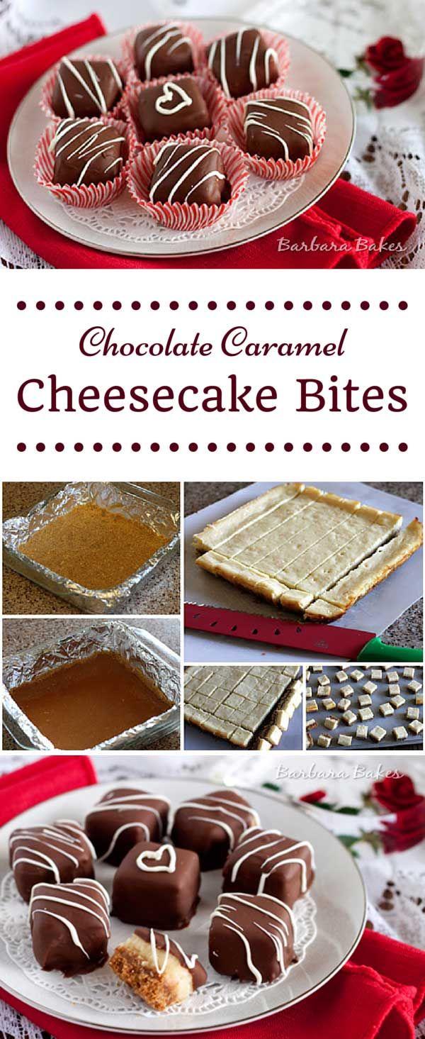 초콜릿 카라멜 치즈케익 바이트