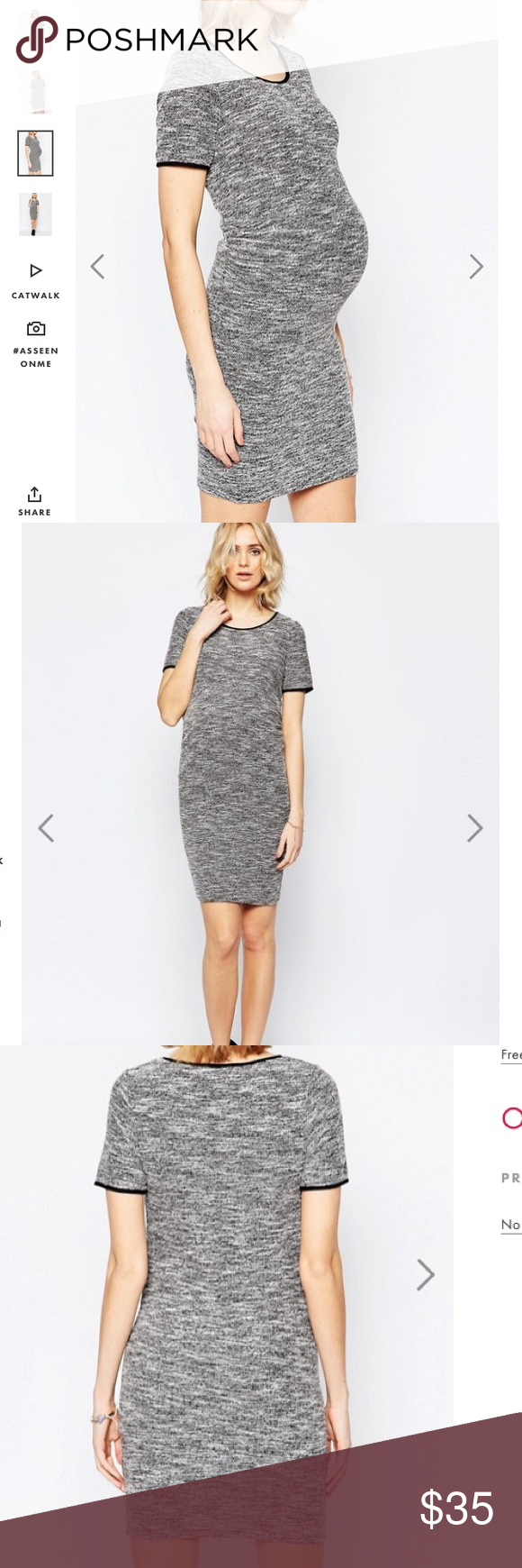 Nwt asos soft maternity dress 6 boutique asos colors and asos one day sale nwt asos soft maternity dress 6 super soft grey color with a ombrellifo Choice Image