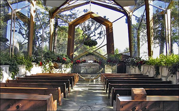 wayfarers chapel wedding location for julie cooper in the oc my dream wedding location