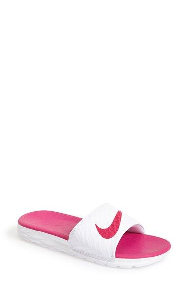 c6315d8a1 Nike  Benassi Solarsoft 2  Slide Sandal (Women) available at  Nordstrom