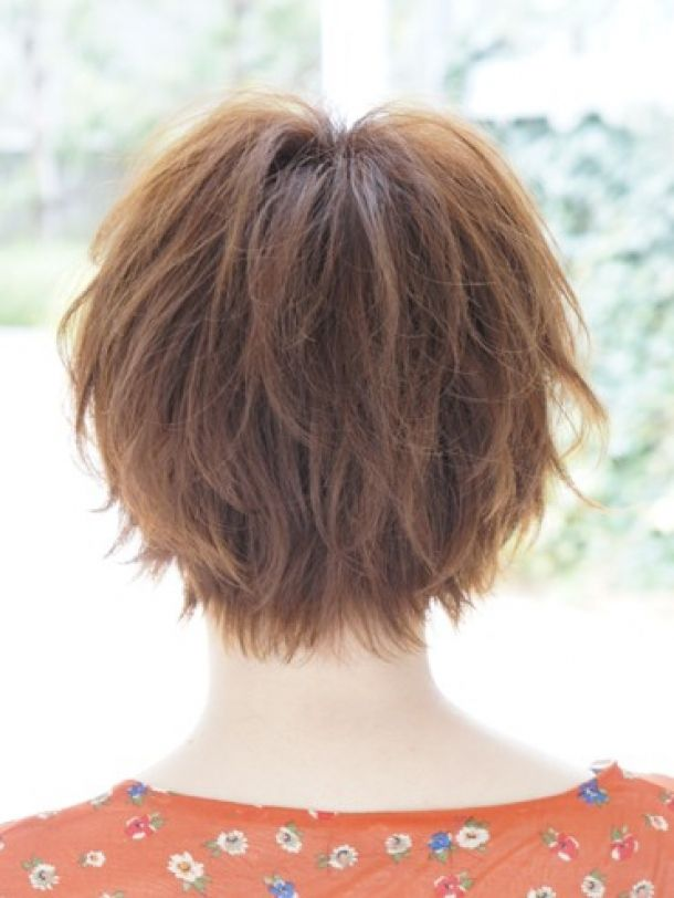 Back View Of Layered Hairstyles Cute Asian Hairstyle Back View Short Hairstyles 2013 Free Download